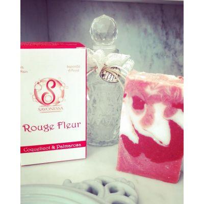 Savon Rouge Fleur Coquelicot & Palmarosa