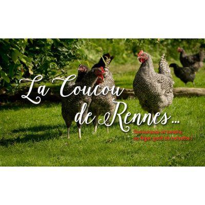 """Poulet """"Le Coucou de Rennes"""" 2 kg"""