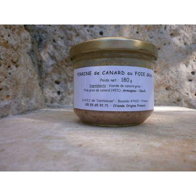 Terrine au Foie gras (45% de foie gras)