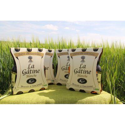 La Gâtine Blanche par carton de 4 Packs de 3x33 cl