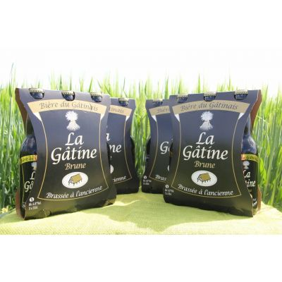 La Gâtine Brune par carton de 4 packs de 3x33 cl