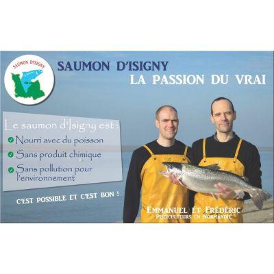 4 Tranches de Saumon d'Isigny fumé