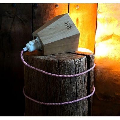 Luminaire NARA Cordon châtaigne