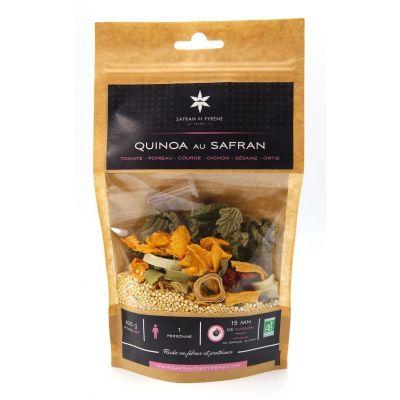 Quinoa au safran 1 personne