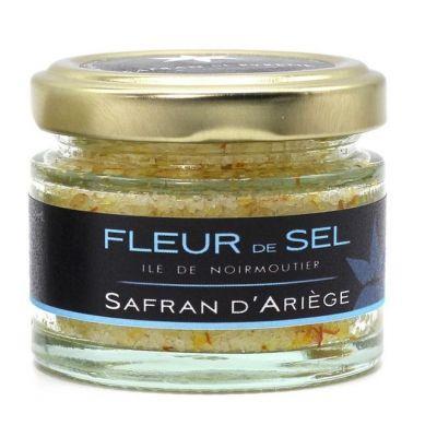 Fleur de sel au Safran 35g