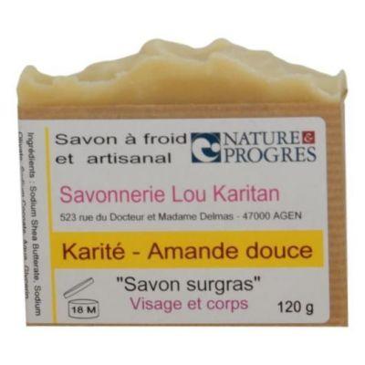 Savon Karité-Amande Douce 120 g