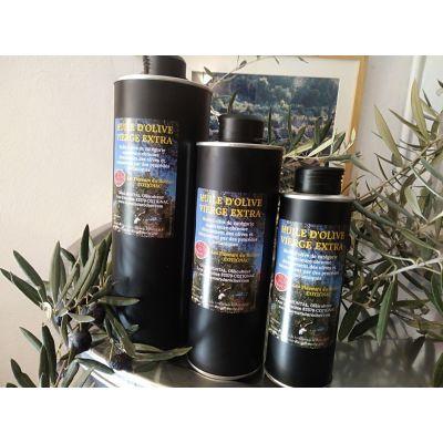 Huile d'olive vierge Extra (origine Provence) 1 L (fruité mûr)