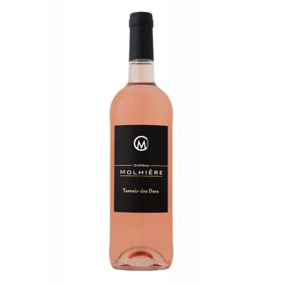 Château Molhière Terroir des Ducs Rosé 2018 Côtes de Duras 6 bouteilles de  75 cl