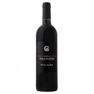 Château Molhière Terroir des Ducs Rouge 2017 Côtes de Duras 6 bouteilles de 75 cl