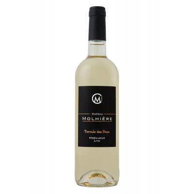 Château Molhière Terroir des Ducs Moelleux 2018 Côtes de Duras 6 bouteilles de 75 cl