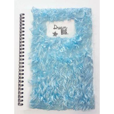 Cahier à poils bleus, 150 pages