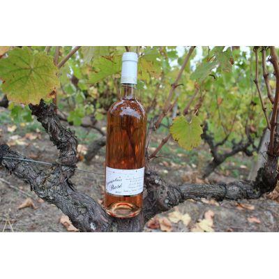 6 Bouteilles de Beaujolais Rosé