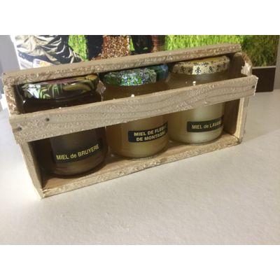 Coffret découverte du miel