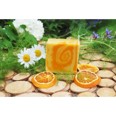 Savon surgras Orange - Abricot - Ylang
