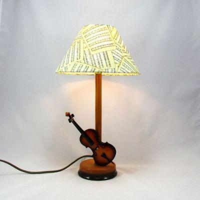 Lampe violon @Rêve de Lampes