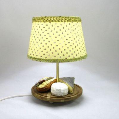 Lampe de table plateau de fromage  @Rêve de Lampes