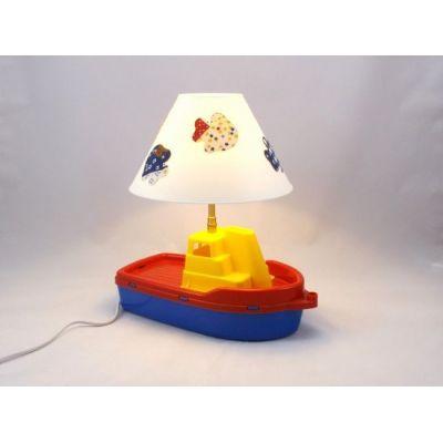 Lampe de chevet enfant bateau @Rêve de Lampes