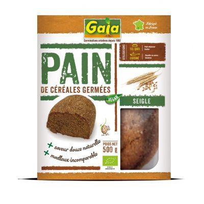 Pain de céréales germées Seigle 500 g