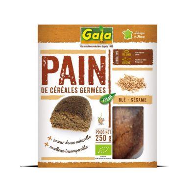 Pain de céréales germées Blé Sésame 250 g