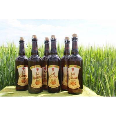 La Gâtine Blonde 75 cl par carton de 6 bouteilles