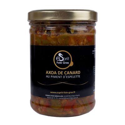 AXOA DE CANARD AU PIMENT D'ESPELETTE 750 G