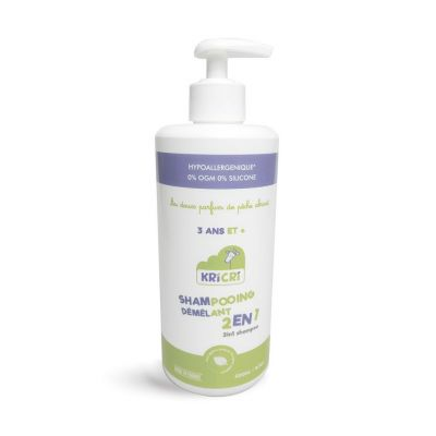 Shampooing démêlant 2-en-1 500 ml