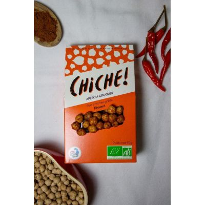 POIS CHICHES GRILLÉS – PACK PIMENT (3X90G)