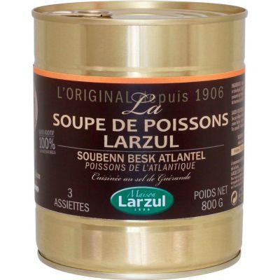 Soupe de poissons 800g Larzul