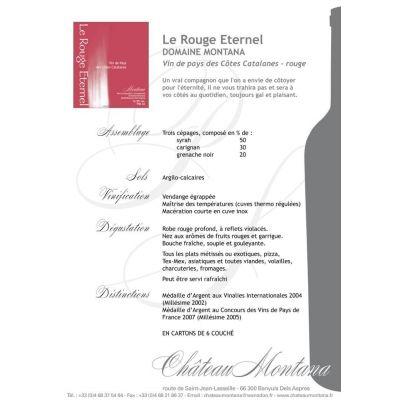 Vin rouge léger, fruité, facile à boire, idéal sur apéritif, grillade, tapas