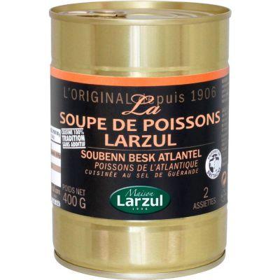Soupe de poissons 400g Larzul