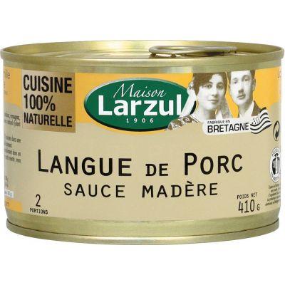 Langue de porc sauce madère