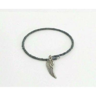 Bracelet à mémoire de forme + plume