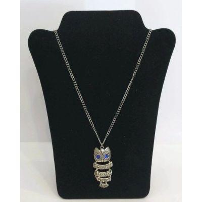 Collier pendentif hibou