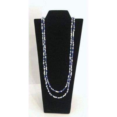 Collier 2 rangées de perles