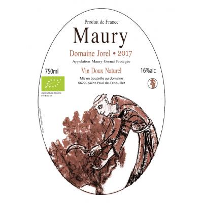 2 blles de Maury Vin Doux Naturel 2017