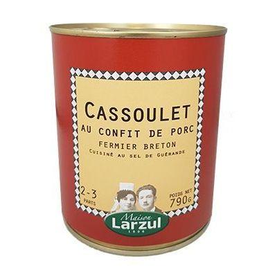 Cassoulet au confit de porc Larzul