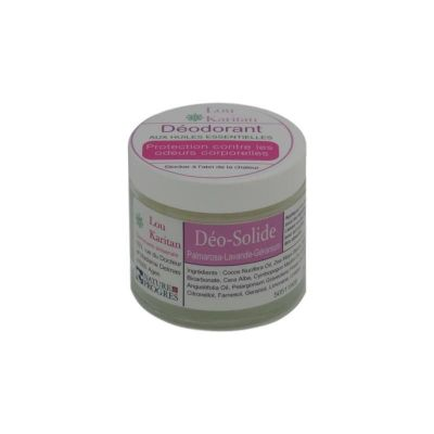 Déodorant solide