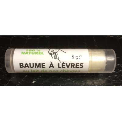 Baume à lèvres 100% Naturel enrichi au Lait de nos chèvres et cire d'abeilles