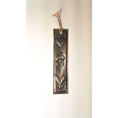 Marque page Oriental en métal repoussé Recyclé (canettes boissons)