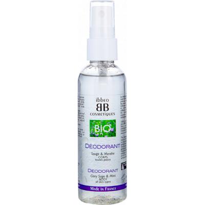 Déodorant fraîcheur, menthe et sauge – 100ML