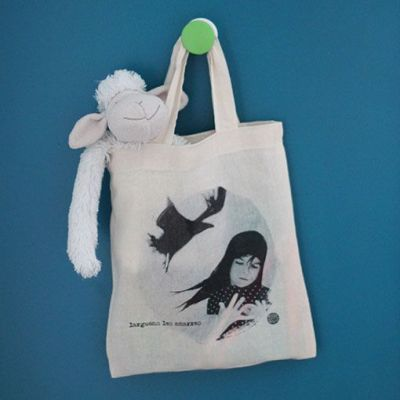 "Mini tote bag ""Larguons les amarres"""