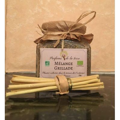 Aromates Mélange Grillade BIO 25g