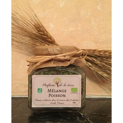 Aromates Mélange Poisson BIO 30g