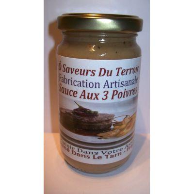 3 Sauces Aux POIVRES