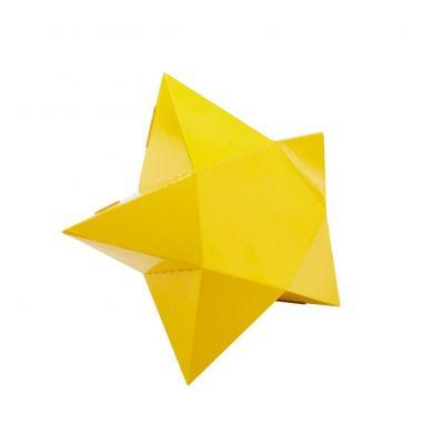 Le Brillant - Boîte cadeau étoile - S - Jaune dorée