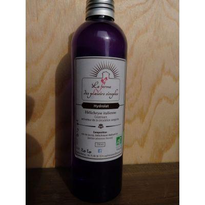 Hydrolat bio d'Hélichrise italienne - bouchon spray