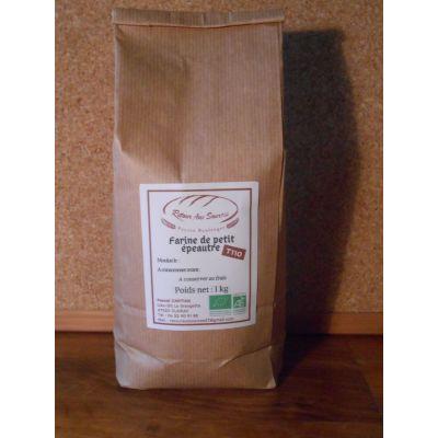 Farine de blé petit épeautre bio complète T110 - 1kg