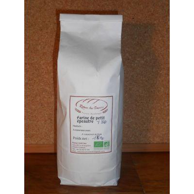 Farine de blé petit épeautre bio demi-complète T 80 - 5 kg
