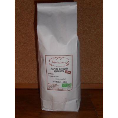 Farine de blé petit épeautre blanche T65 - 5 kg