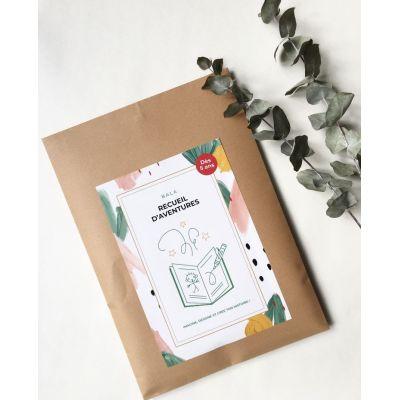 Recueil d'aventures - Imagine, écris et illustre ton histoire et crée ton propre livre